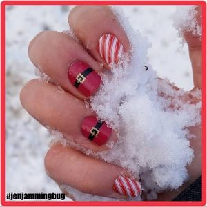 Jamberry nail wrap - Christmas set